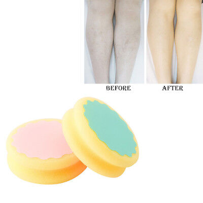 Arm Skin Smooth Leg Sheer Painless Hair Removal Sponge Buffer Exfoliator Pad