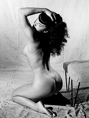 Bettie Page Nude Poster 18X24 NEW FREE SHIPPING