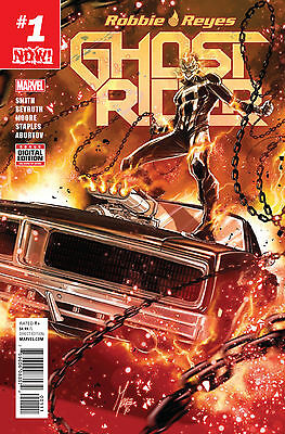 GHOST RIDER #1 NOW (MARVEL 2016 1st Print) COMIC