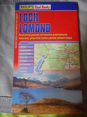 LOCH LOMOND historic interest + 5 town centre maps