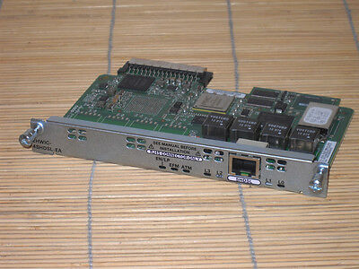 Cisco EHWIC-4SHDSL-EA Enhanced High-Speed WAN Interface Card Karte