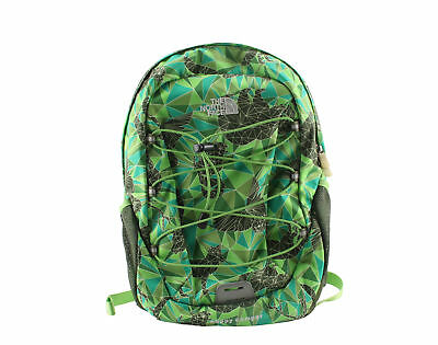 The North Face Happy Camper Frog Green/Zoo Print Youth Backpack A93Q-L6E