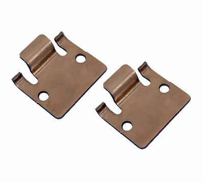 Male Seat Hinge Plates (2) For Club Car DS