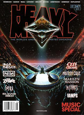 Heavy Metal Magazine #287. Cover A (August 2017)