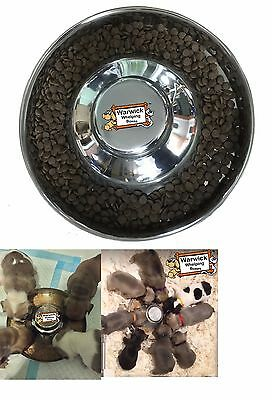 Warwick Whelping Boxes™ Feeding Saucer Whelping Bowl weaning litter of puppies