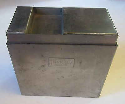 Vintage Photography NoRaL Stainless Steel Tank