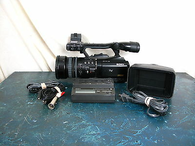 Sony Hvr-V1U With Only 120 Hours On The Hour Meter & Wide Conversion Lens& Acces