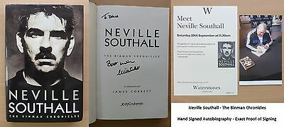 Neville Southall The Binman Chronicles Signed Autobiography - Everton (11318)