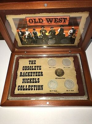 The Obsolete Racketeer Nickels Collection