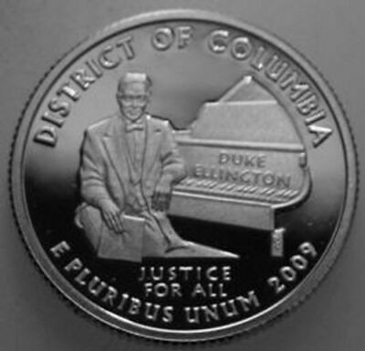 2009-S State Quarter Clad Proof District of Columbia