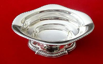 Georgian Small Sterling Silver Sauce Boat With (4) Hallmarks
