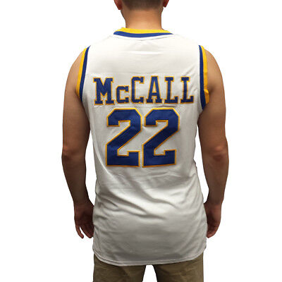 e063f5f8e9a Quincy McCall #22 Crenshaw White Basketball Jersey Love And Basketball  Costume
