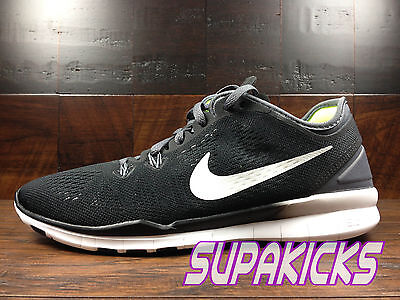 hot sale online 36be3 acd67 NIKE FREE 5.0 TR FIT 5 Womens (Black   White   Grey) Crossfit