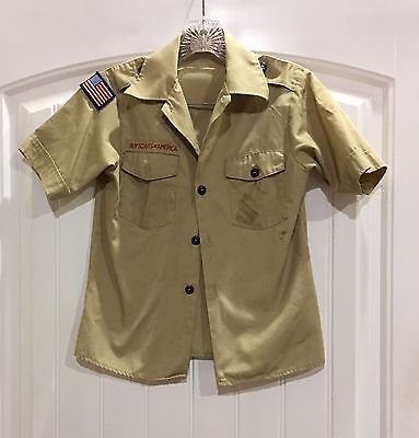 Official Boy Scout Shirt - Short Sleeve - Youth Medium