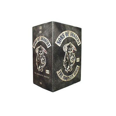 Sons of Anarchy: The Complete Series Seasons 1-7 BoxSet (DVD, 2015)