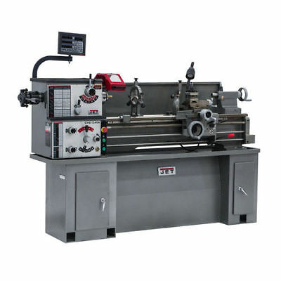JET 321110 Belt Drive Lathe with Acu-Rite Vue Dro Metalworking Turning Tool New