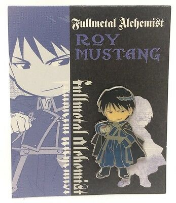 Movic Fullmetal Alchemist Roy Mustang Metal Enameled Pin Mini Toy Anime Manga