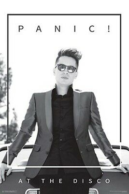 Panic At The Disco Brendon Leaning Poster New  !