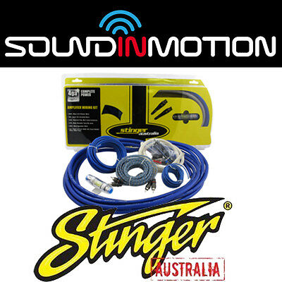 Stinger STK4, 4AWG Amplifier Installation Cable Kit
