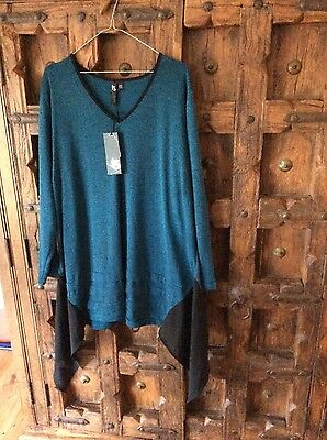 Taking shape ts stunning tunic designer ladies womens top plus size XL new chic