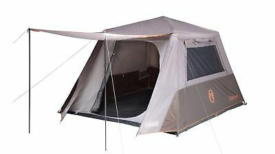 Coleman 6 Person Instant Up Full Fly Tent - Shade & Protection in Under 2 Mins
