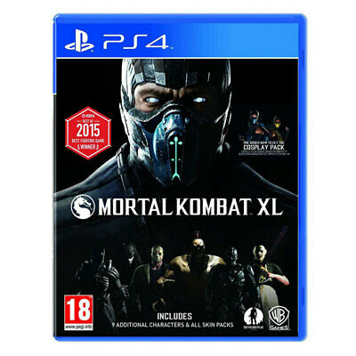 Mortal Kombat XL PS4 Game Sony PlayStation 4 Brand New