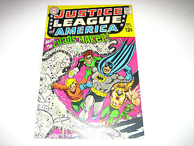 Justice League of America #68 GD+