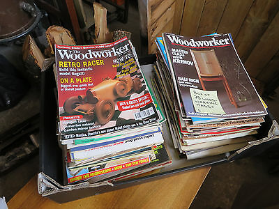 Box of 100+ Woodworking Magazines