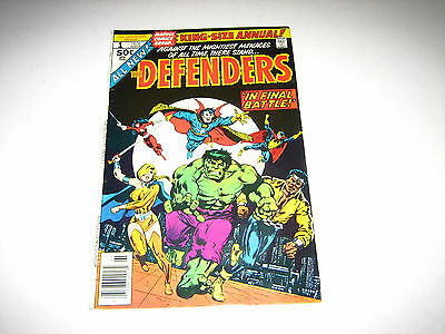 Defenders King Size Annual #1 VG