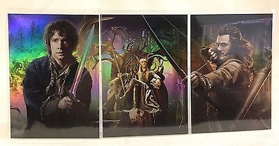 Cryptozoic the Hobbit desolation of Smaug Collage 3-card insert set CP1 CP2 CP3