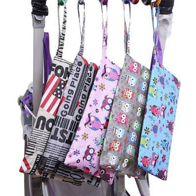 Nappy Dry Wet Cloth Bag Travel Organizer Diaper Baby Lovely Waterproof Storage S