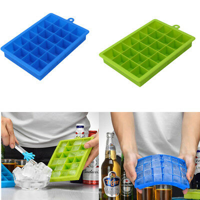 24 Cavity Silicone Ice Cube Tray Mold Chocolate Candy Maker DIY Kitchen Tool