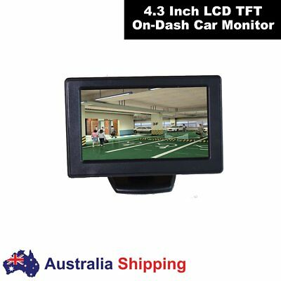 4.3 inch Car Video Monitor Auto Rear View Dash Stand LCD Screen UK Same Day Ship