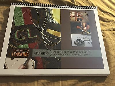 Louis Vuitton Learning Operations Employee Training  Look book 134 Pages