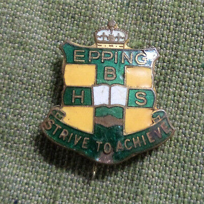 #d312. Epping  Boys High School  Lapel Badge