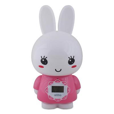 Big Bunny Intelligence Baby Toys Rattles Mp3 Music Story Player for Newborn Pink