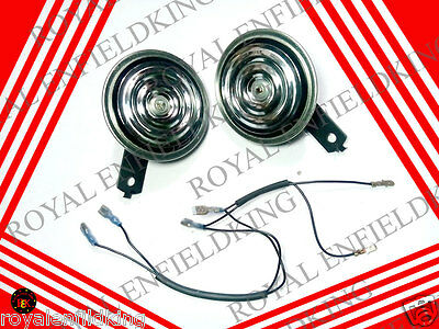 Brand New Royal Enfield  Horn Set 12 V Minda  Best  Price