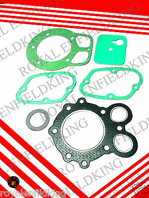 5 X  Royal Enfield Bullet  Classic 350 Half  Engine Gasket  Kit
