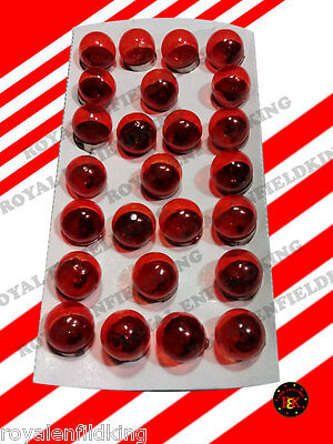 Royal Enfield Pack of 25PCS Bulbs Indicator Bulb 12v-10w RED COLOUR BEST PRICE