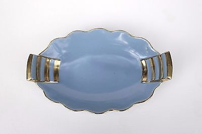Art Deco Royal Winton Bleu Royale Blue & Gold Dish Excellent not Rouge