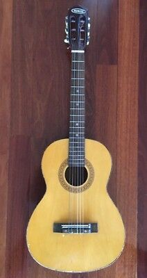 Peerless Classical Guitar, 3/4 Size, Antique/Retro, First Guitar Or Display