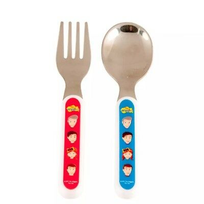 The Wiggles Two (2) Piece Cutlery Set Fork Spoon