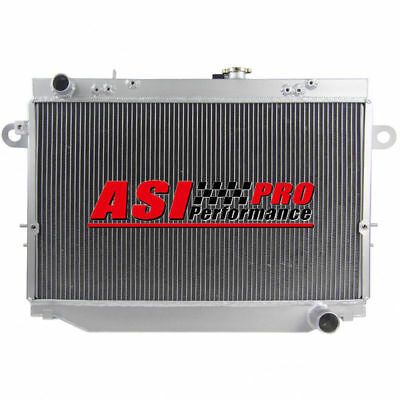 3 ROW Aluminum Radiator FOR Toyota Landcruiser 100 Series 1HZ FZJ105R/HZJ105R MT