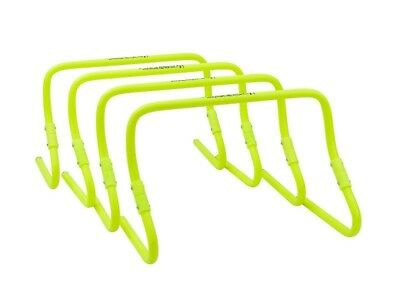 Pro Sports Pack of 4 Adjustable Yellow Hurdle Kit