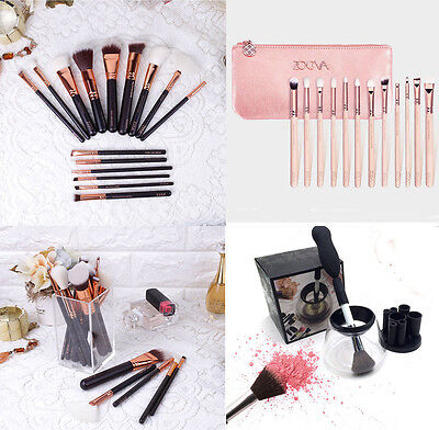 Makeup Bürsten Pinsels Kosmetik Augen Gesicht Set Kit Brush Electric Cleaner