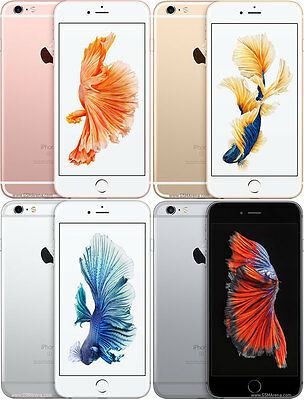 "APPLE IPHONE 6S /6S Plus "" FACTORY UNLOCKED "" 16 64 128GB Rose Gold Smartphone"