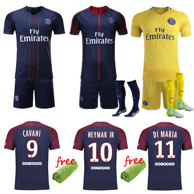 2016-17-18 Lot Football Kits Club Jersey Sportwear Suit Short Sleeve +Socks Set