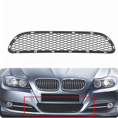 Front Bumper Lower Grille Grill For BMW 3 Series E90 E91 325i 328i 335i 09-12