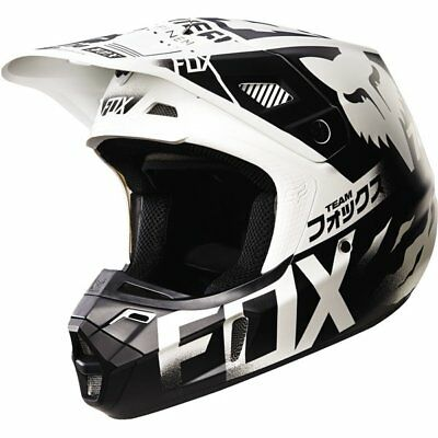 Fox Racing V2 Union Helmet Motocross Helmet