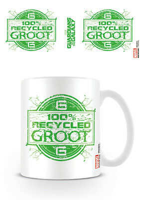 Licensed Marvel Guardians Of The Galaxy Recycled Groot Mug Tea Coffee Cup